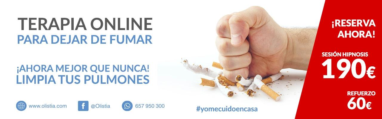 Terapia Hipnosis Online para dejar de fumar
